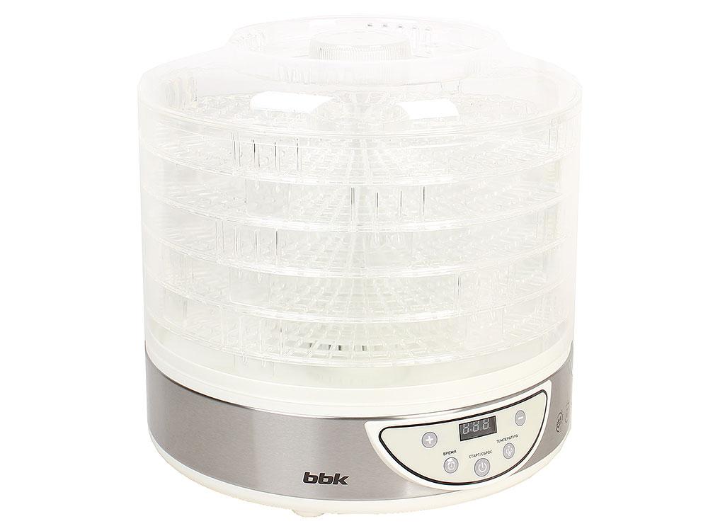 Сушилка для овощей и фруктов BBK BDH205D белый металлик аудиомагнитола bbk bs01 черный и белый