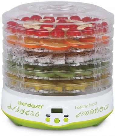 59-FD Электросушилка для овощей и фруктов Endever Skyline .Мощность (Вт) 350.