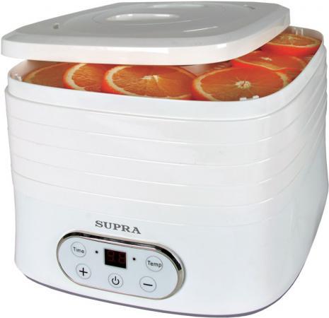 Сушилка для овощей и фруктов Supra DFS-533 белый сушилка supra dfs 533