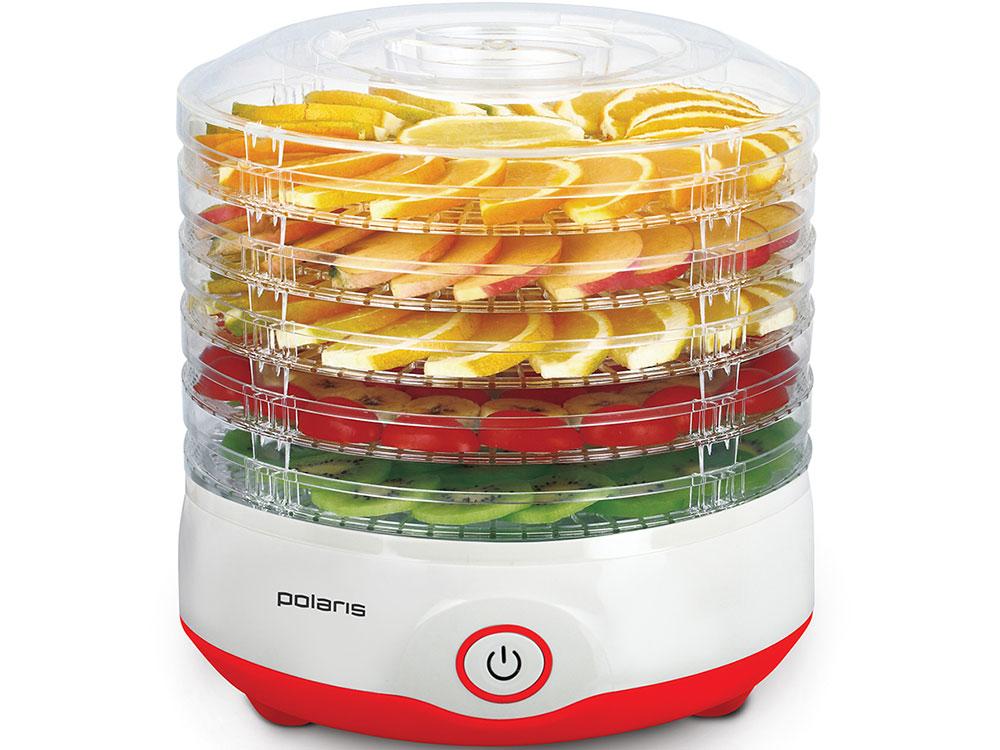 Сушилка для овощей и фруктов Polaris PFD 2105D, Красный