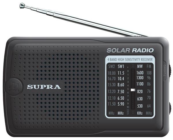 Радиоприемник SUPRA ST-111 black от OLDI