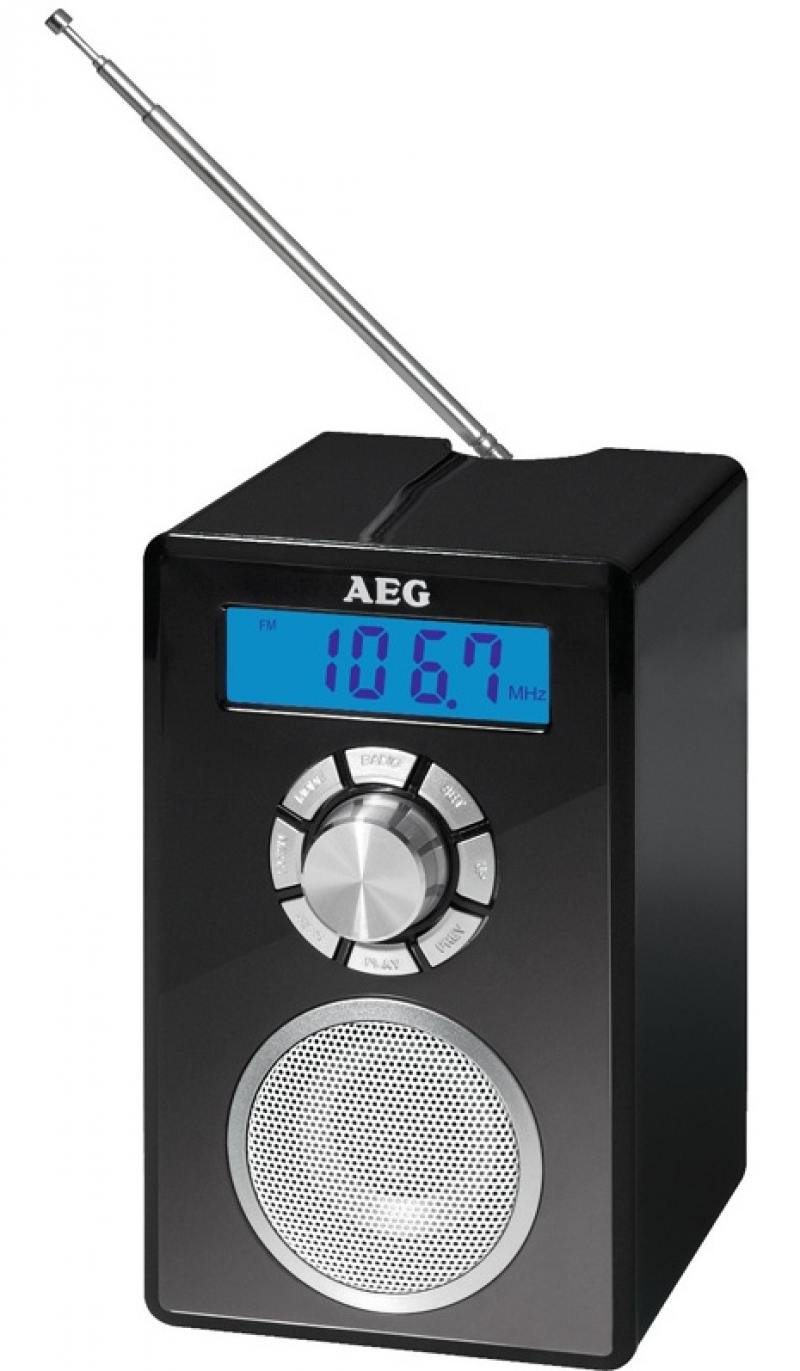 Картинка для Радиоприемник AEG MR 4139 BT черный