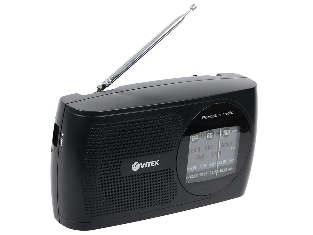цена на Радиоприемник Vitek VT-3587(BK) черный