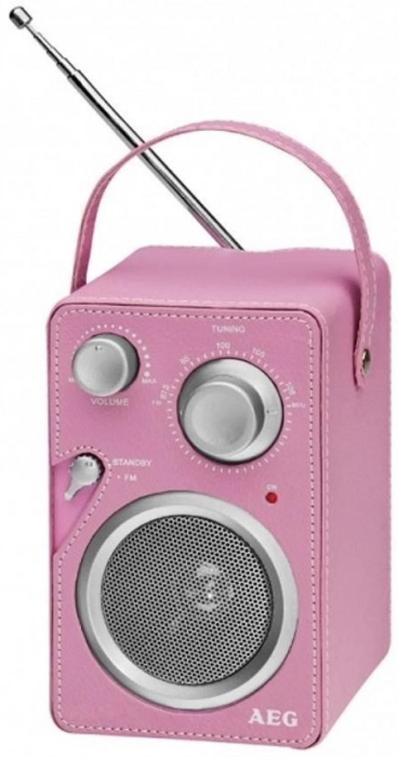 цена на Радиоприемник AEG MR 4144 pink Aux-In