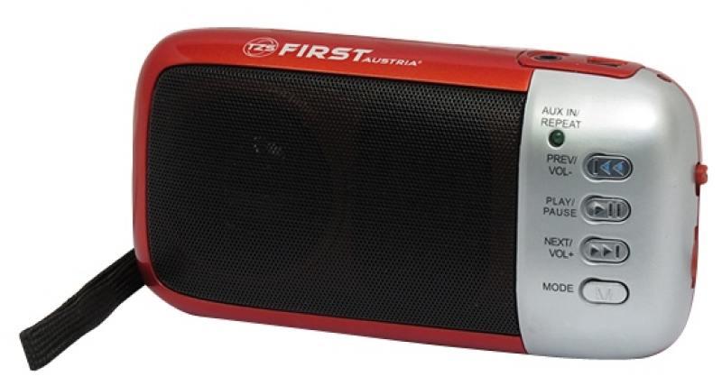 Радиоприемник First 1925 красный радиоприемник first 1900 2 черный