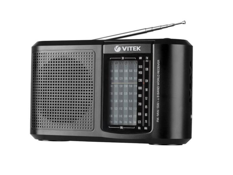 Радиоприемник Vitek VT-3590 черный