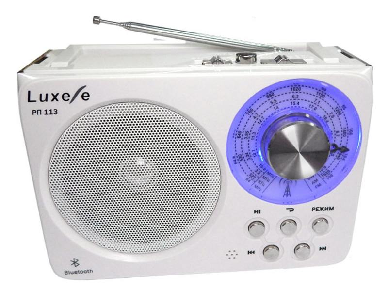 Радиоприемник Сигнал Luxele РП-113 белый сигнал electronics рп 318
