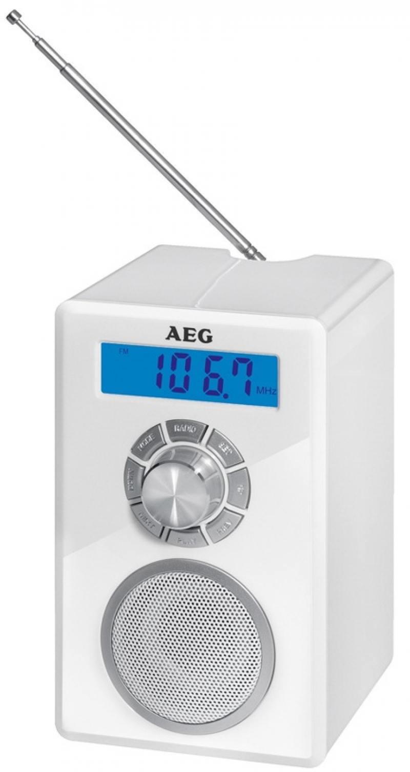 Радиоприемник bluetooth AEG MR 4139 BT whites aeg kh 4223 bt stereo red bluetooth наушники