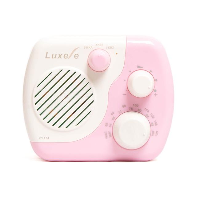 Радиоприемник Сигнал Luxele РП-114 белый радиоприемник rolsen rfm 330