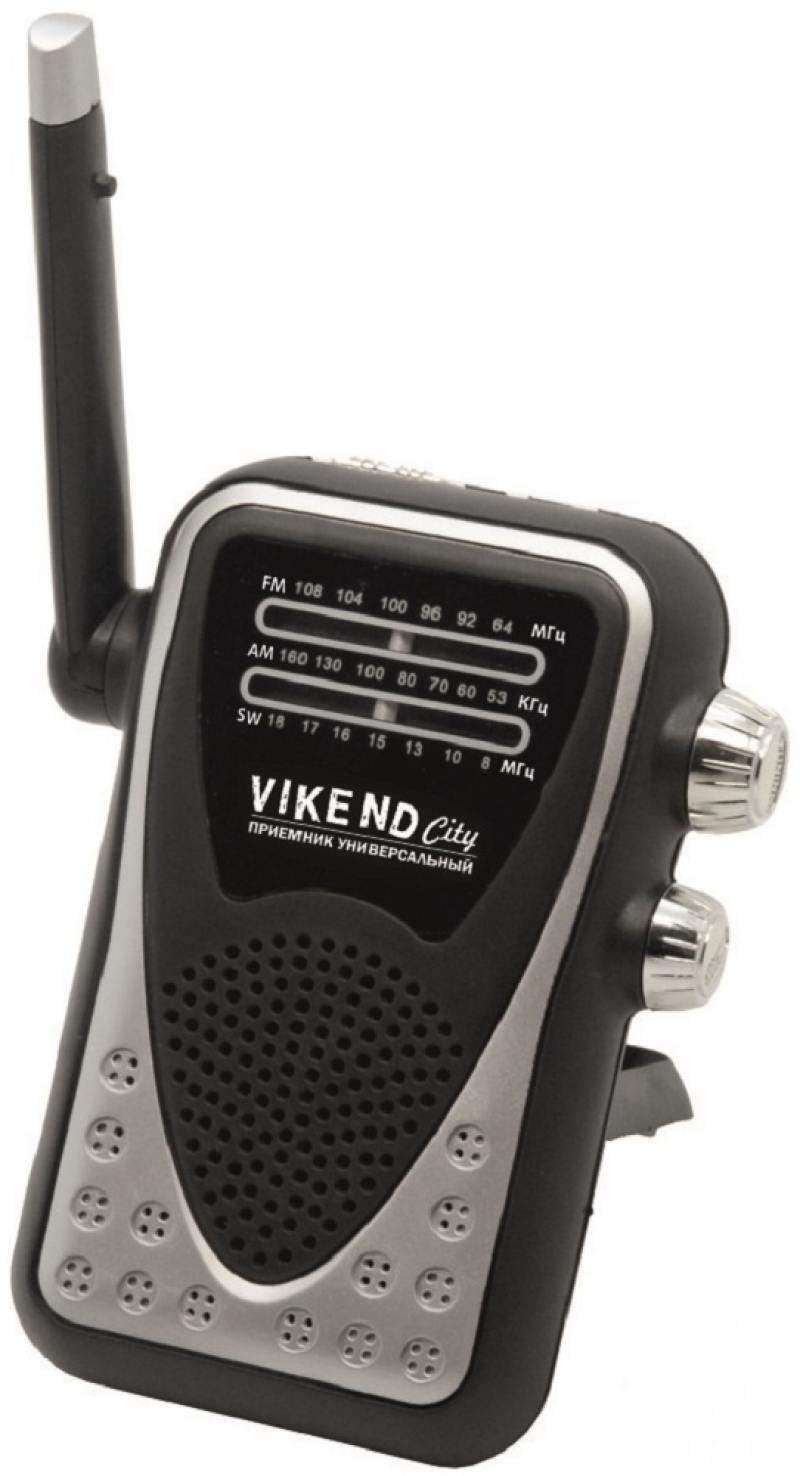 купить Радиоприемник Сигнал VIKEND CITY черный онлайн