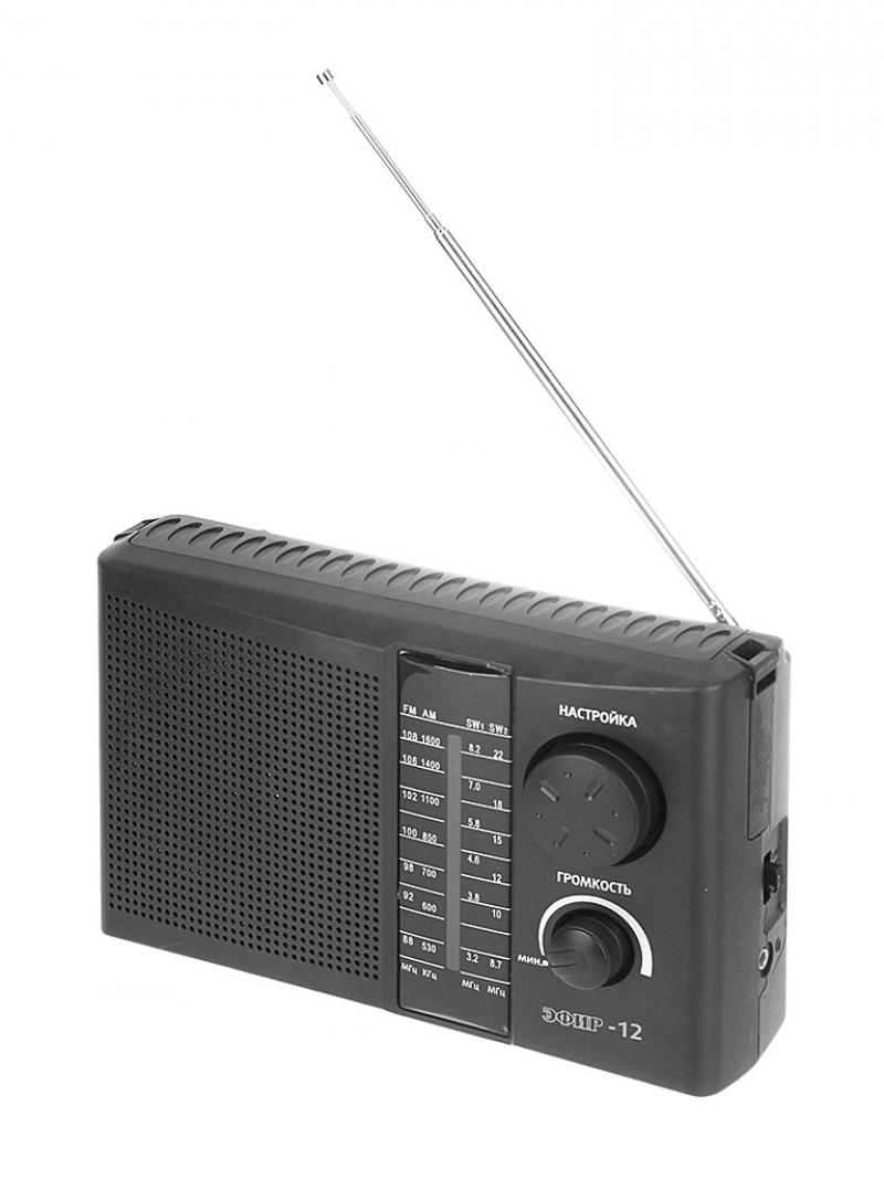 Радиоприемник Сигнал Эфир-12 черный радиоприемник сигнал эфир 08 белый черный