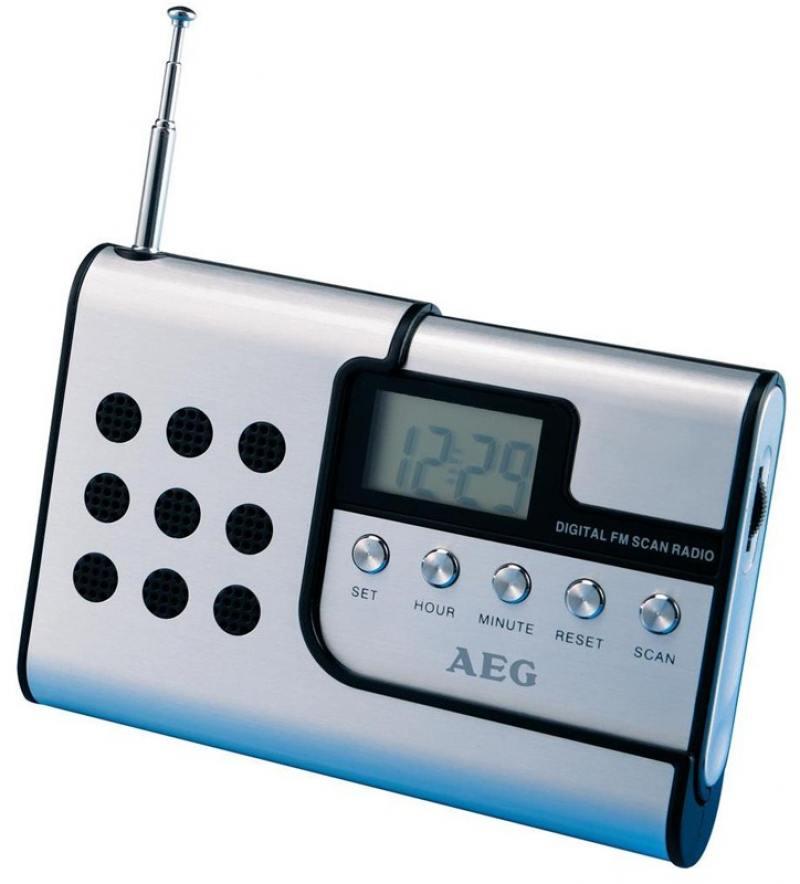 Радиоприемник AEG DRR 4107 aluminium aeg mr 4139 bt schwarz bluetooth радиоприемник