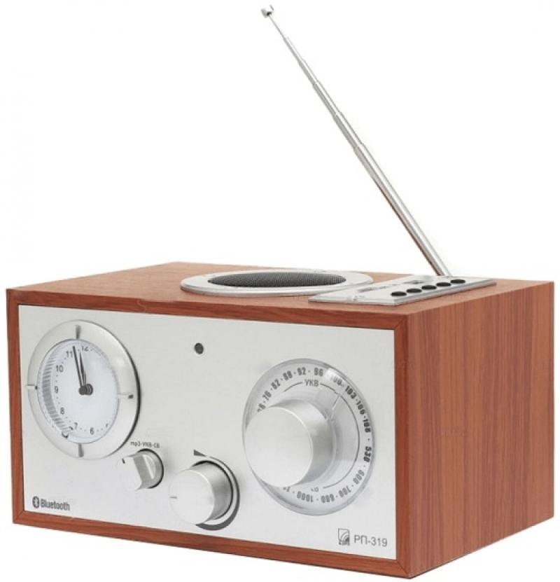 Радиоприемник Сигнал БЗРП РП-319 дерево радиоприемник сигнал бзрп рп 322 дерево черный
