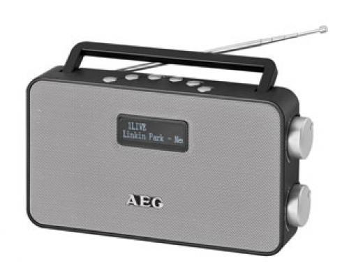 Радиоприемник AEG DAB 4153 черный DAB+ вентилятор напольный aeg vl 5569 s lb 80 вт