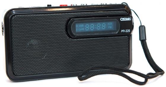 Радиоприемник Сигнал РП-225 черный ownsun innovative super cob fog light angel eye bumper projector lens for ford focus