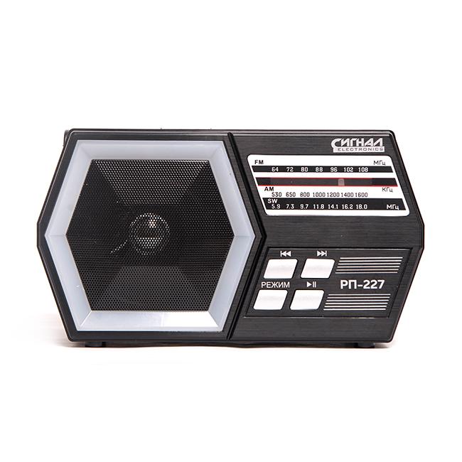 Радиоприемник Сигнал РП-227 черный радиоприемник philips aj3551