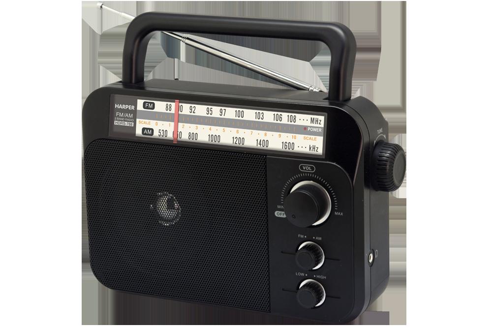 Радиоприемник HARPER HDRS-788 Черный, 3Вт, Разъем для наушников телефонная розетка abb bjb basic 55 шато 1 разъем цвет черный