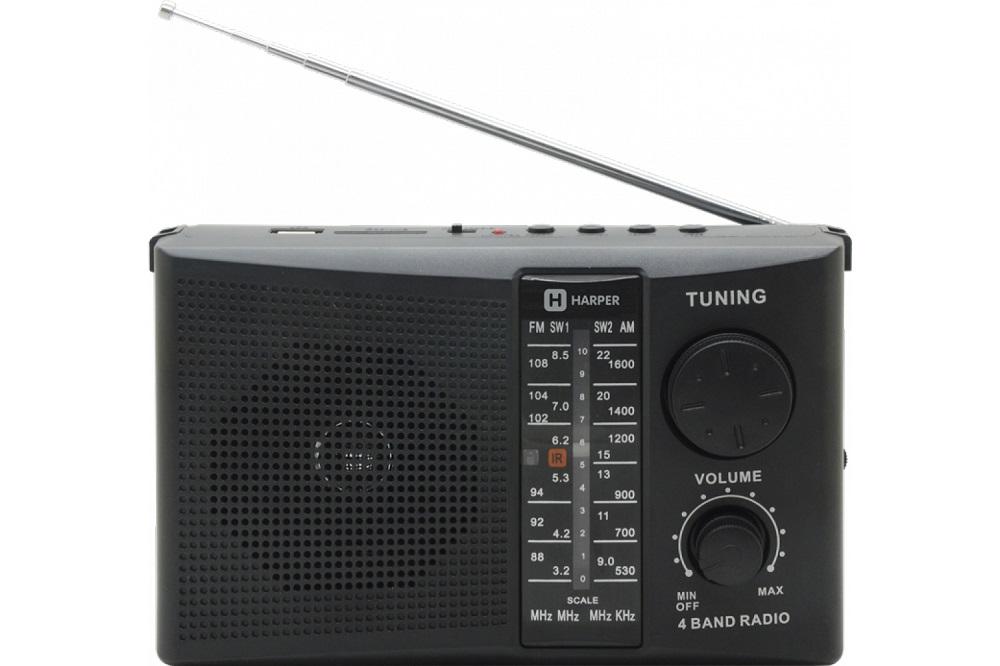 Радиоприёмник Harper HDRS-288 black