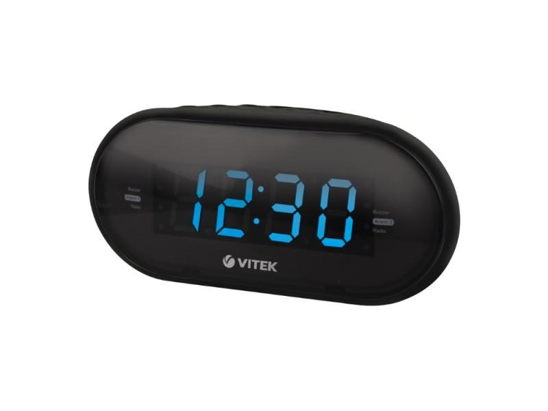 Часы с радиоприёмником Vitek VT-6602BK