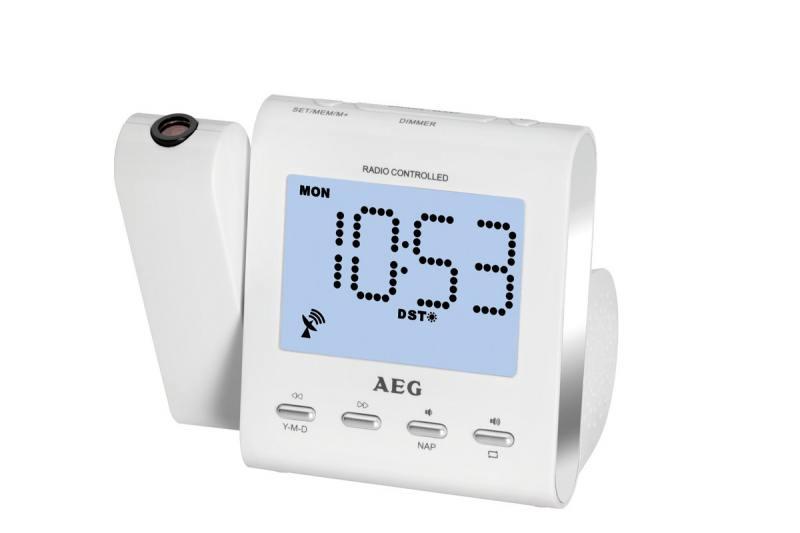 Часы с радиоприёмником AEG MRC 4122 F
