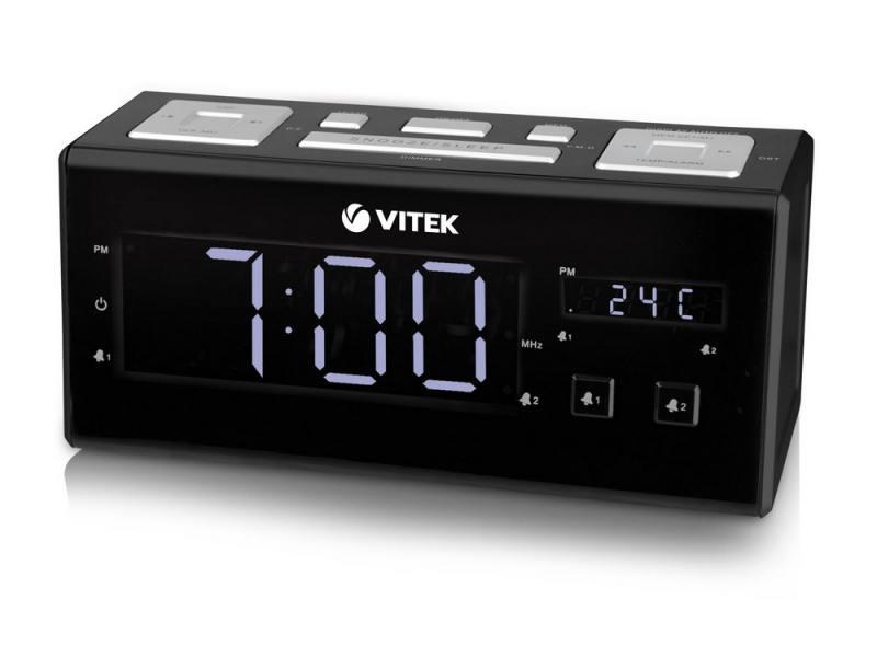 Часы с радиоприемником Vitek VT-3523ВК