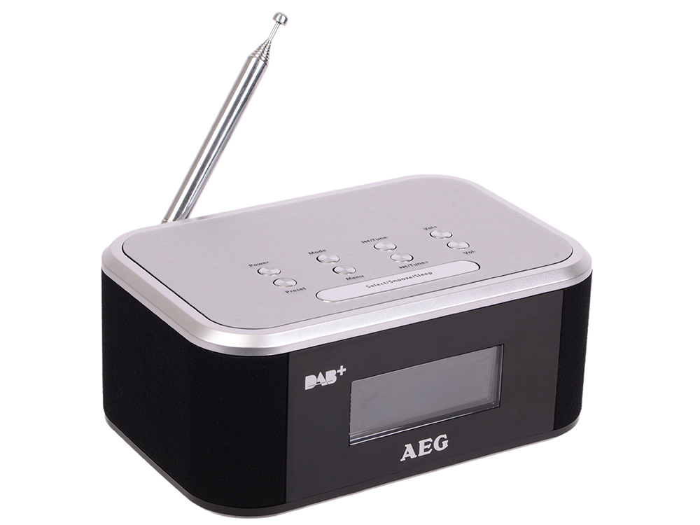 Радиоприемник AEG MRC 4148 DAB+ чёрный серебристый