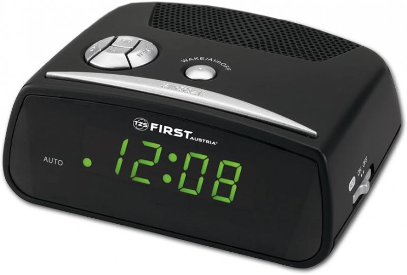 Часы с радиоприёмником First 2410 черный часы с радиоприёмником first 2410 черный