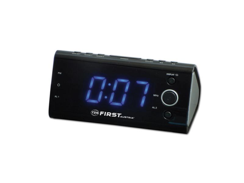 Часы с радиоприёмником First 2419-3 часы с радиоприёмником first 2410 черный