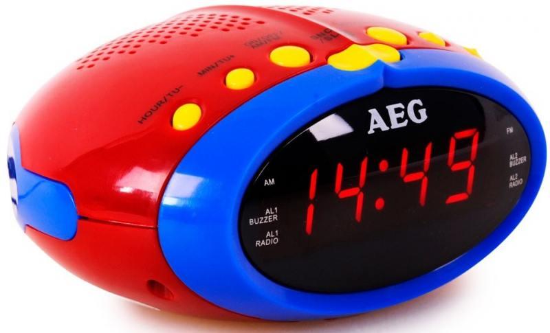 Часы с радиоприёмником AEG MRC 4143 bunt вентилятор напольный aeg vl 5569 s lb 80 вт