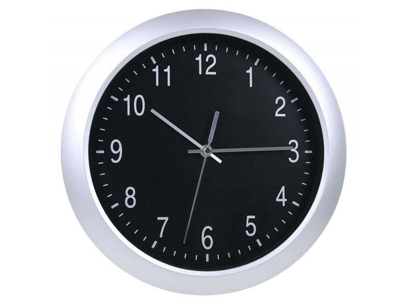 Часы Бюрократ WallC-R02P/silver настенные аналоговые серебристый