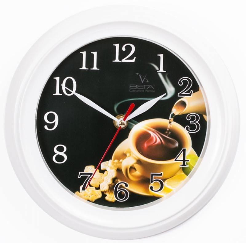 Часы настенные Вега П 6-7-24 часы настенные вега п 1 6 6 7