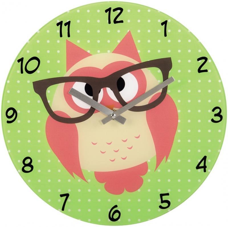 Часы настенные HAMA Owl 136214