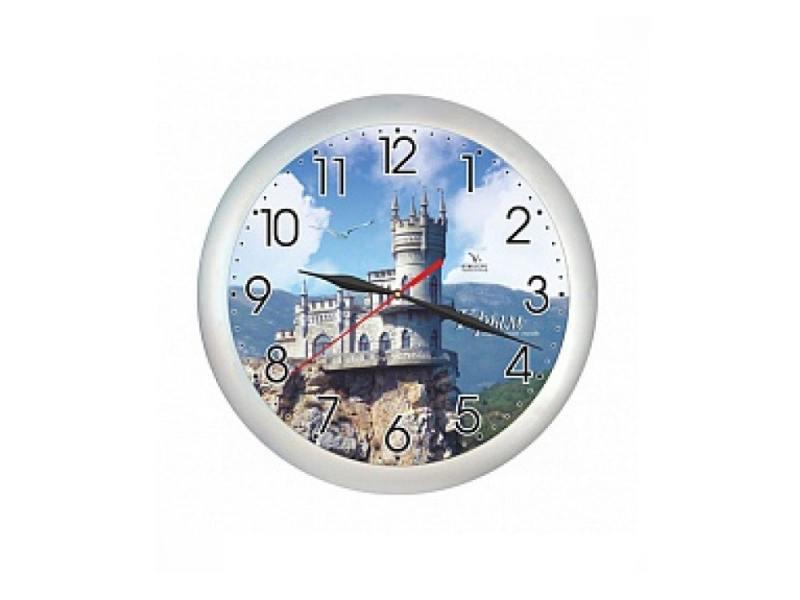 Часы Вега Крым. Ласточкино гнездо П 1-серебро/7-221 кронштейн kromax vega 50 белый
