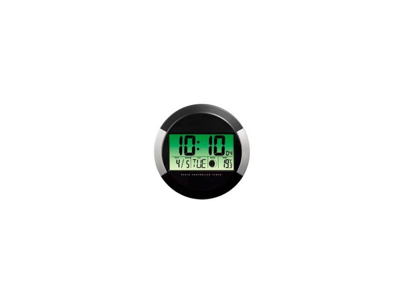 Часы Hama PP-245  H-104936 настенные цифровые пластик черный
