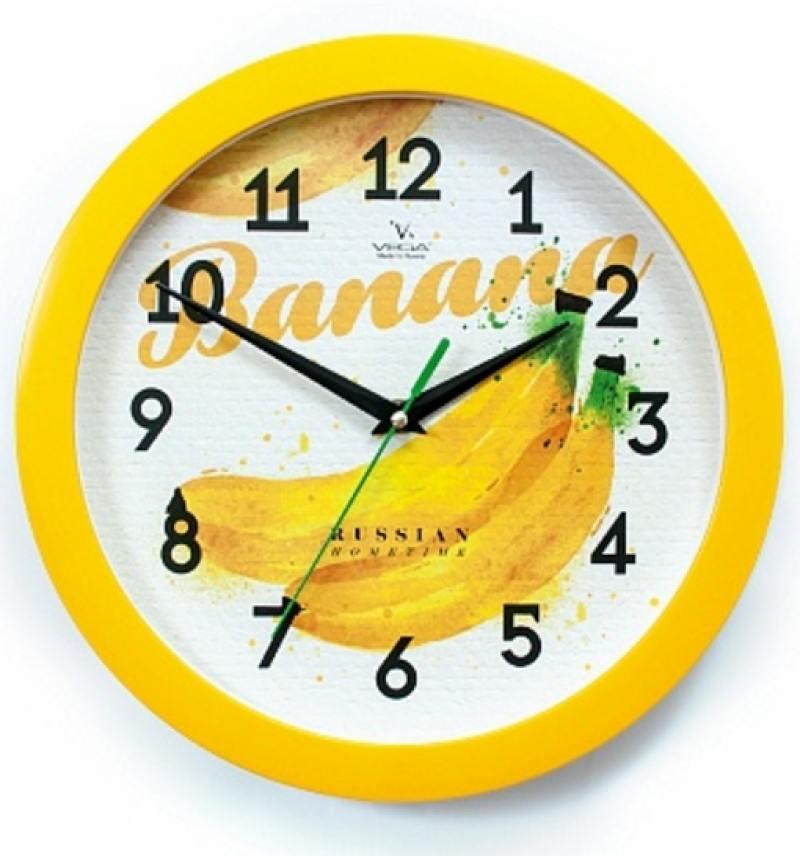 Часы настенные Вега Бананы (П 1-2/7-255)