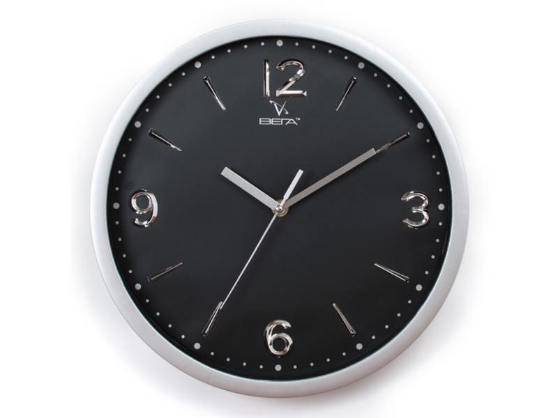 Часы настенные Вега Черная классика Н0248В