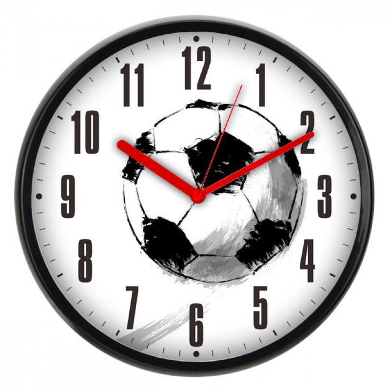 где купить Часы настенные BURO WallC-R29P/football по лучшей цене