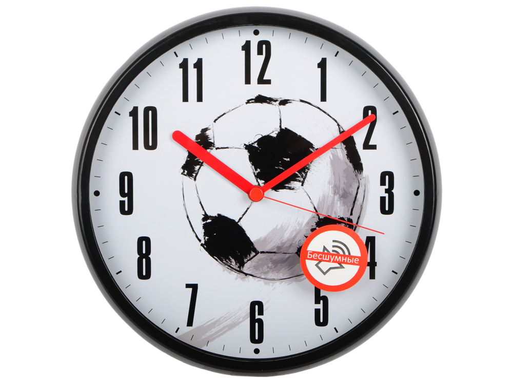 Часы настенные BURO WallC-R29P/football ламинатор buro hq 236