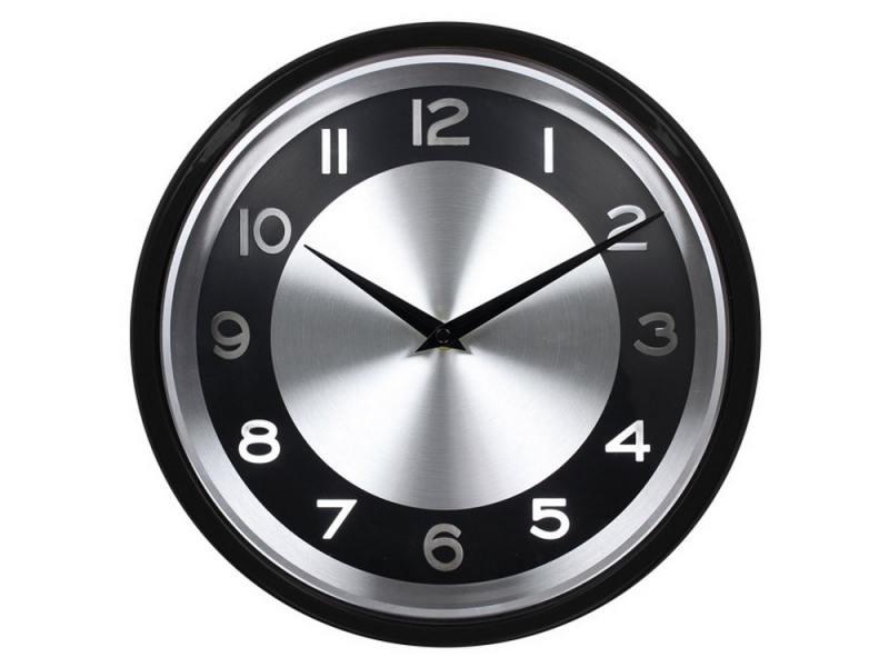 Часы Бюрократ WALLC-R24P/Black настенные аналоговые черный
