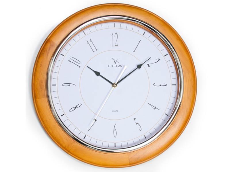 Часы настенные Вега Классика кедр Н1105
