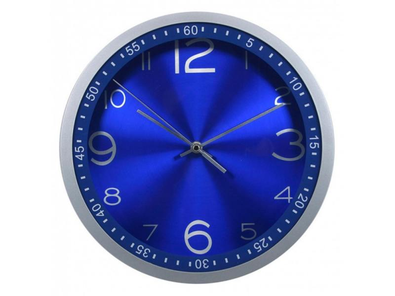 Часы Бюрократ WALLC-R05P настенные аналоговые синий