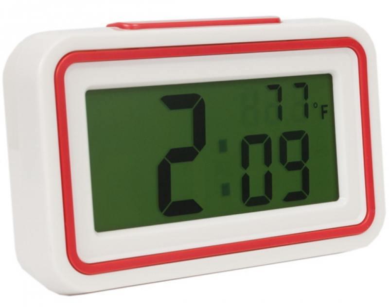 Часы настольные Вега HS 2721 белый