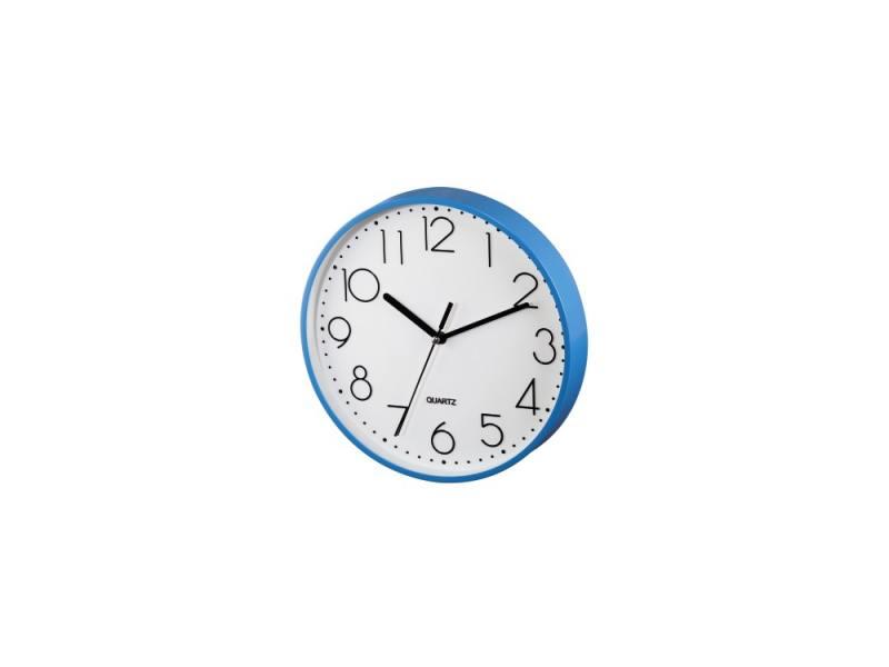 Часы Hama PG-220 настенные аналоговые синий 123167