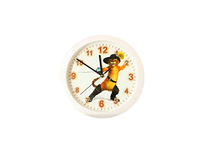 Часы настенные Вега П 1-7-7-126 Кот в сапогах часы настенные вега п 4 14 7 86 новогодние подарки