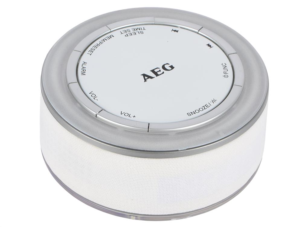 Часы с радиоприёмником AEG MRC 4151 белый