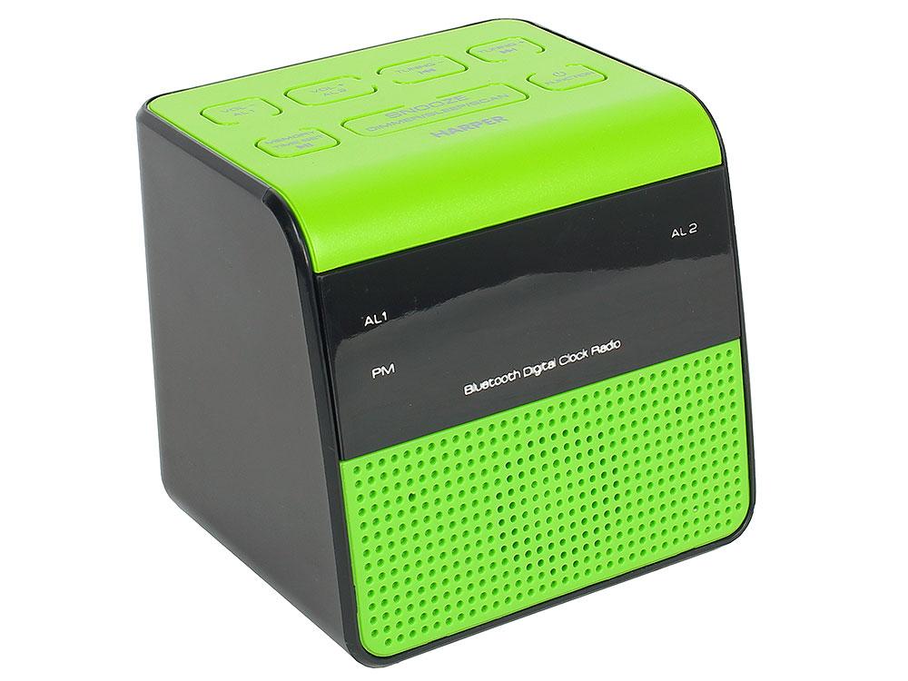 Радиобудильник HARPER HRCB-7768 радиобудильник philips aj3400 12 черный