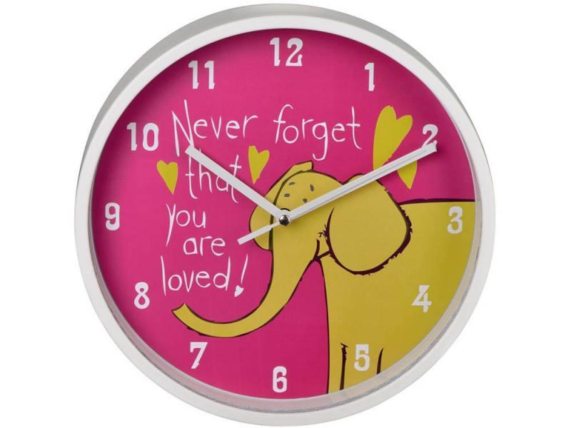 Часы Hama Elephant H-123171 настенные аналоговые детские