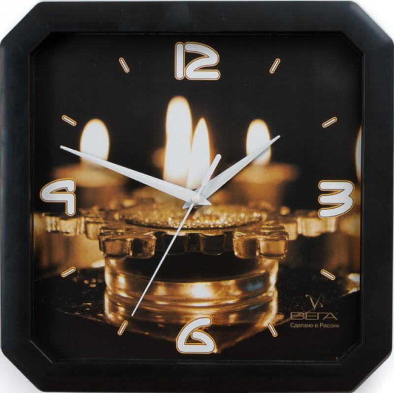 Часы Вега П4-6/6-59 чёрный