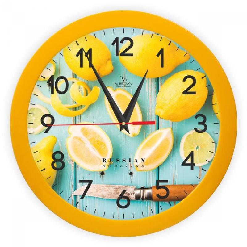 Часы настенные Вега П 1-2/7-260 часы вега п 1 2 7 255 бананы