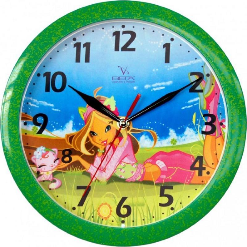 Часы ВЕГА П 1-322/7-2 Фея на природе